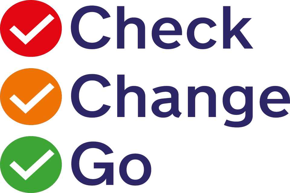 Check Change Go logo
